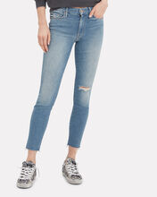 The Looker Cropped Ankle Jeans, DENIM, hi-res