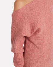 Virginia Off-The-Shoulder Sweater, PINK, hi-res