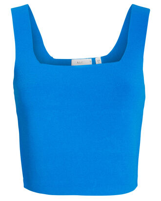 Victoria Knit Tank Top, BLUE, hi-res