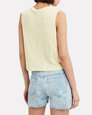 Ines Tank Top, YELLOW, hi-res