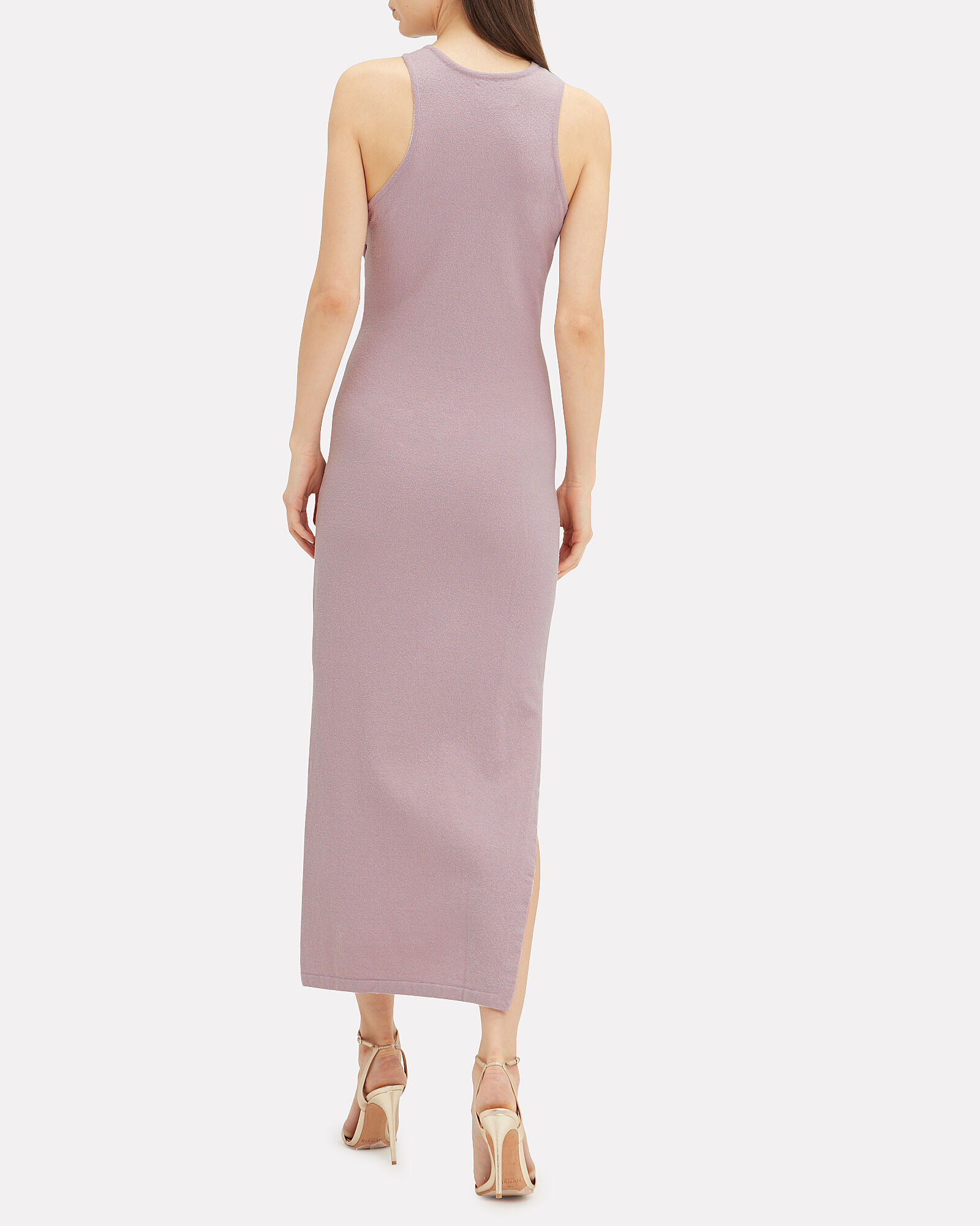 Mame Tie Waist Dress, LILAC, hi-res