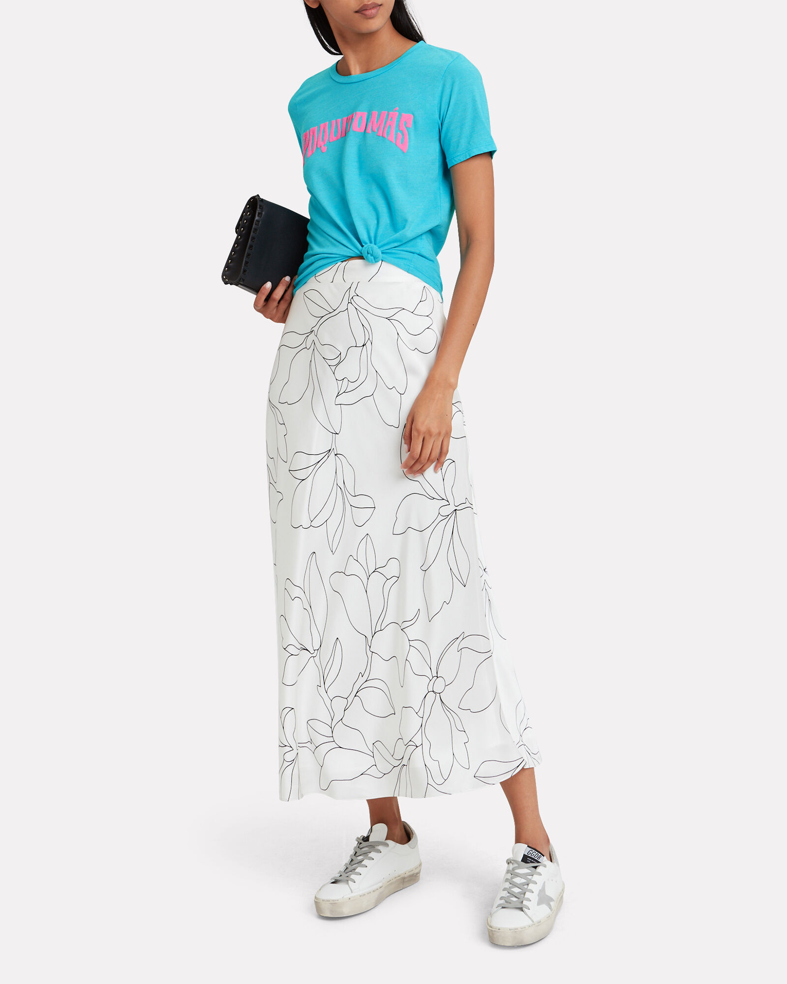 The Boxy Goodie Tee, TURQUOISE, hi-res
