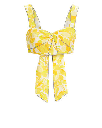Rockpool Floral Bodice, YELLOW FLORAL, hi-res