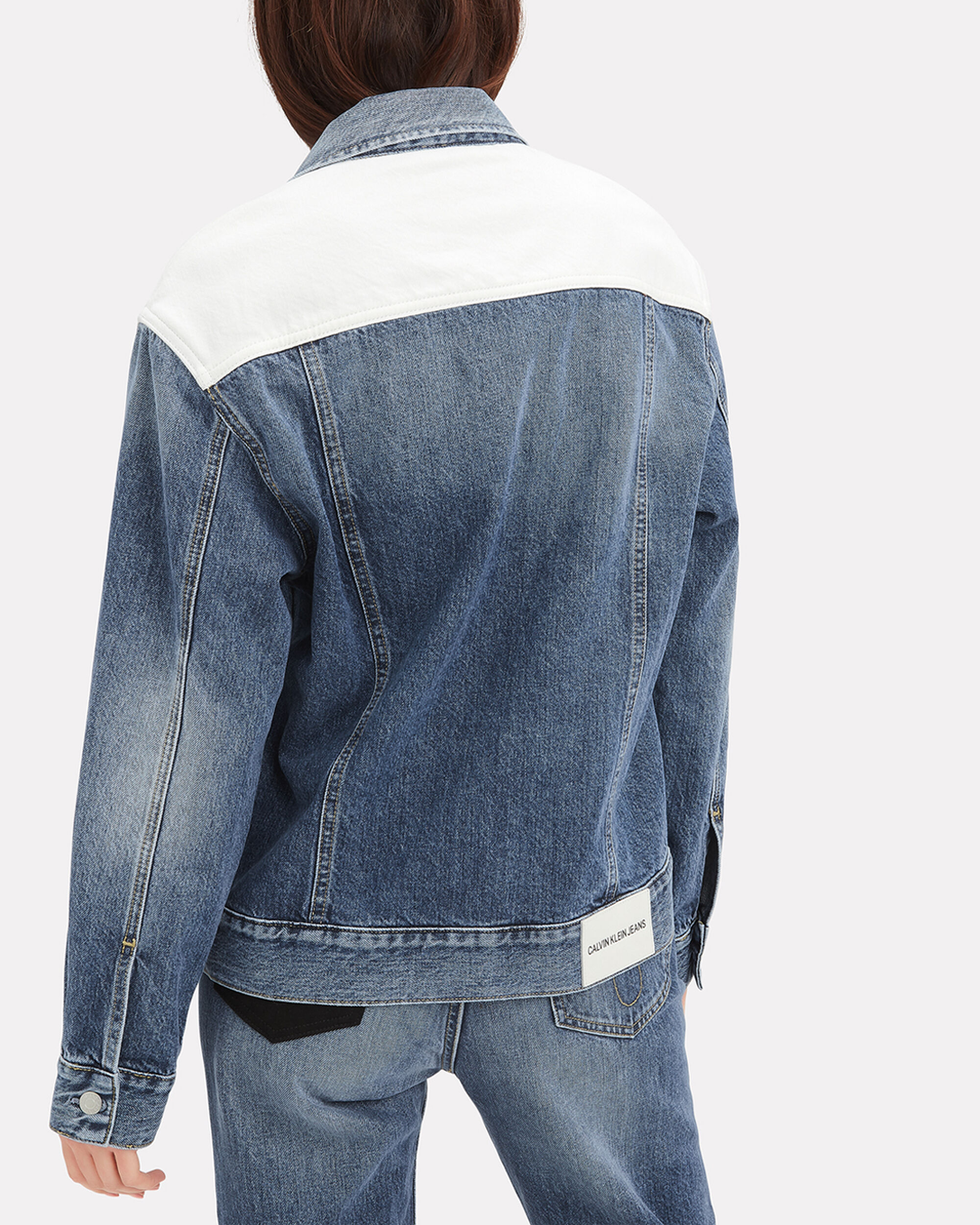 Classic Trucker Denim Jacket, DENIM, hi-res