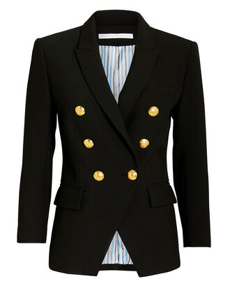 Black Empire Blazer, BLACK, hi-res