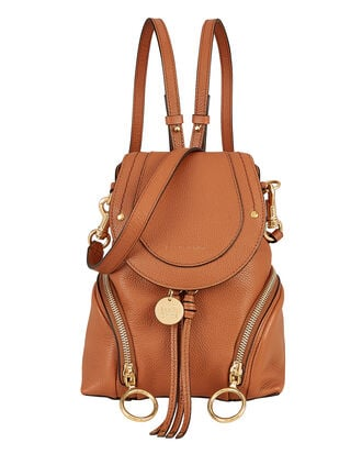 Faye Brown Backpack, BROWN, hi-res