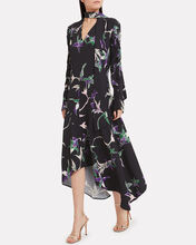 Martha Crepe Long Sleeve Dress, MULTI, hi-res