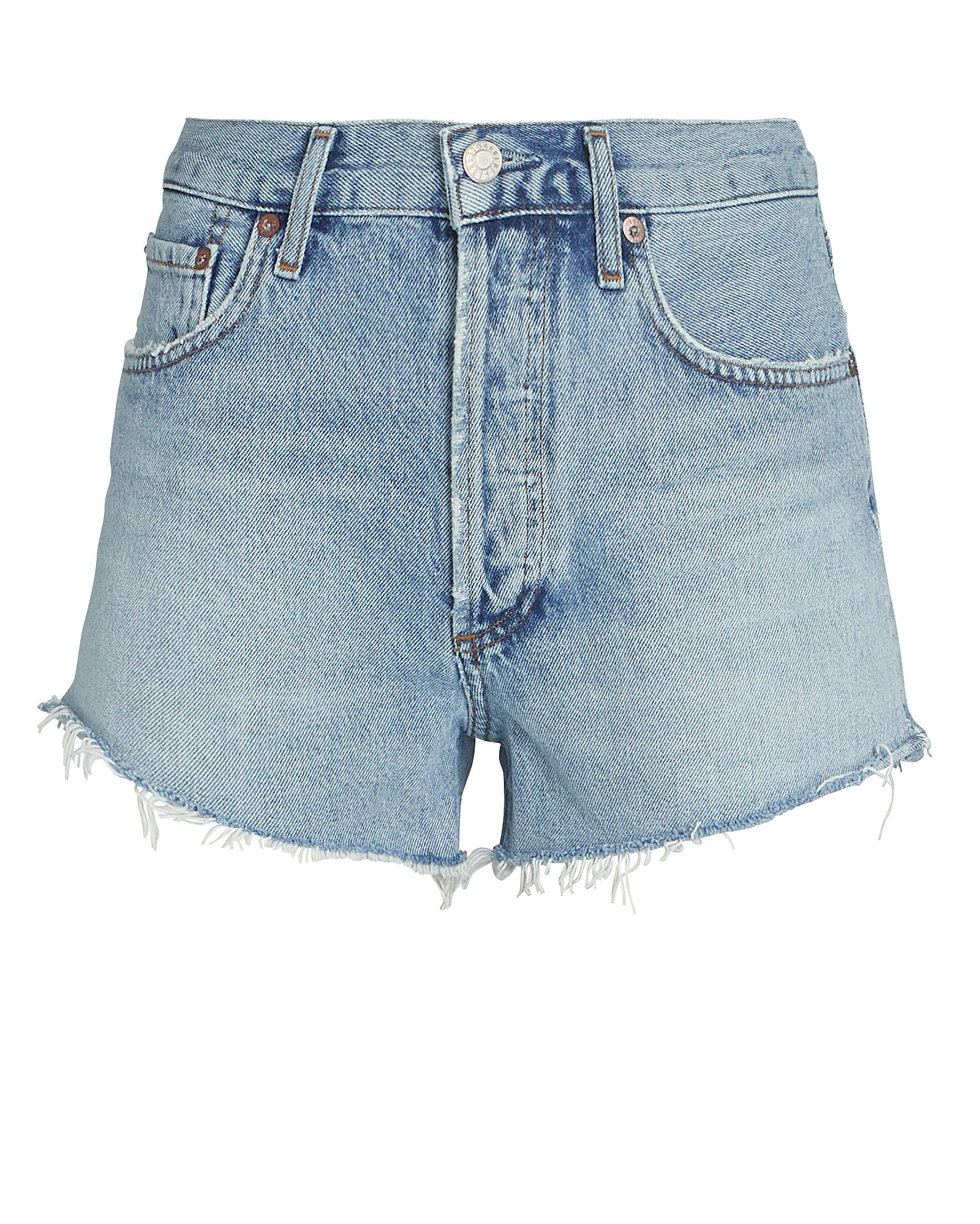 Parker Cut-Off Denim Shorts, RIPTIDE, hi-res