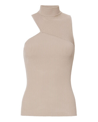 Sandra Cutout Knit Turtleneck, BLUSH/NUDE, hi-res