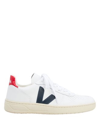 V-10 Bball Low-Top Sneakers, WHITE, hi-res