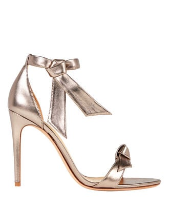 Clarita 100 Leather Sandals, ROSE GOLD, hi-res