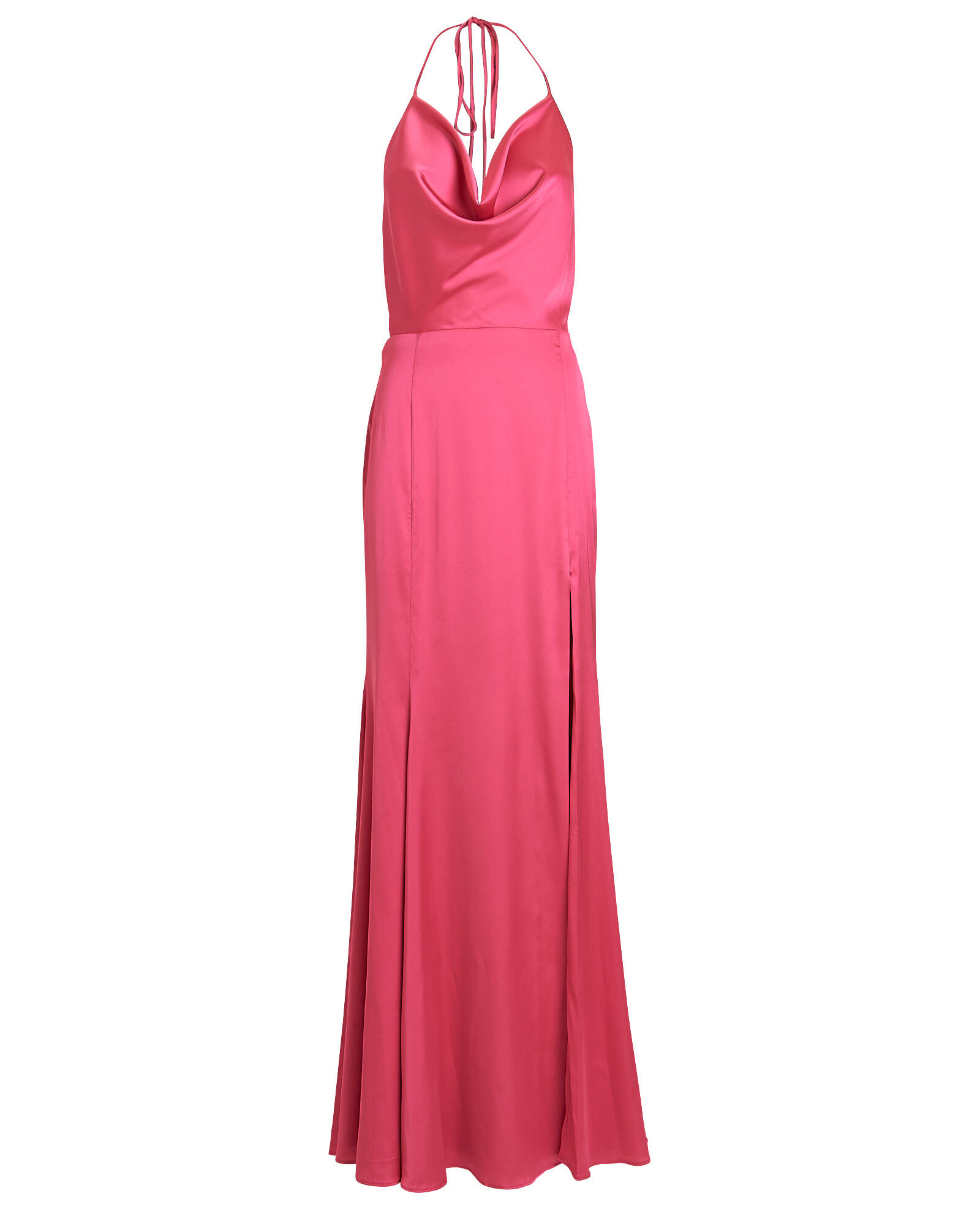 Fortitude Cowl Neck Gown, PINK, hi-res