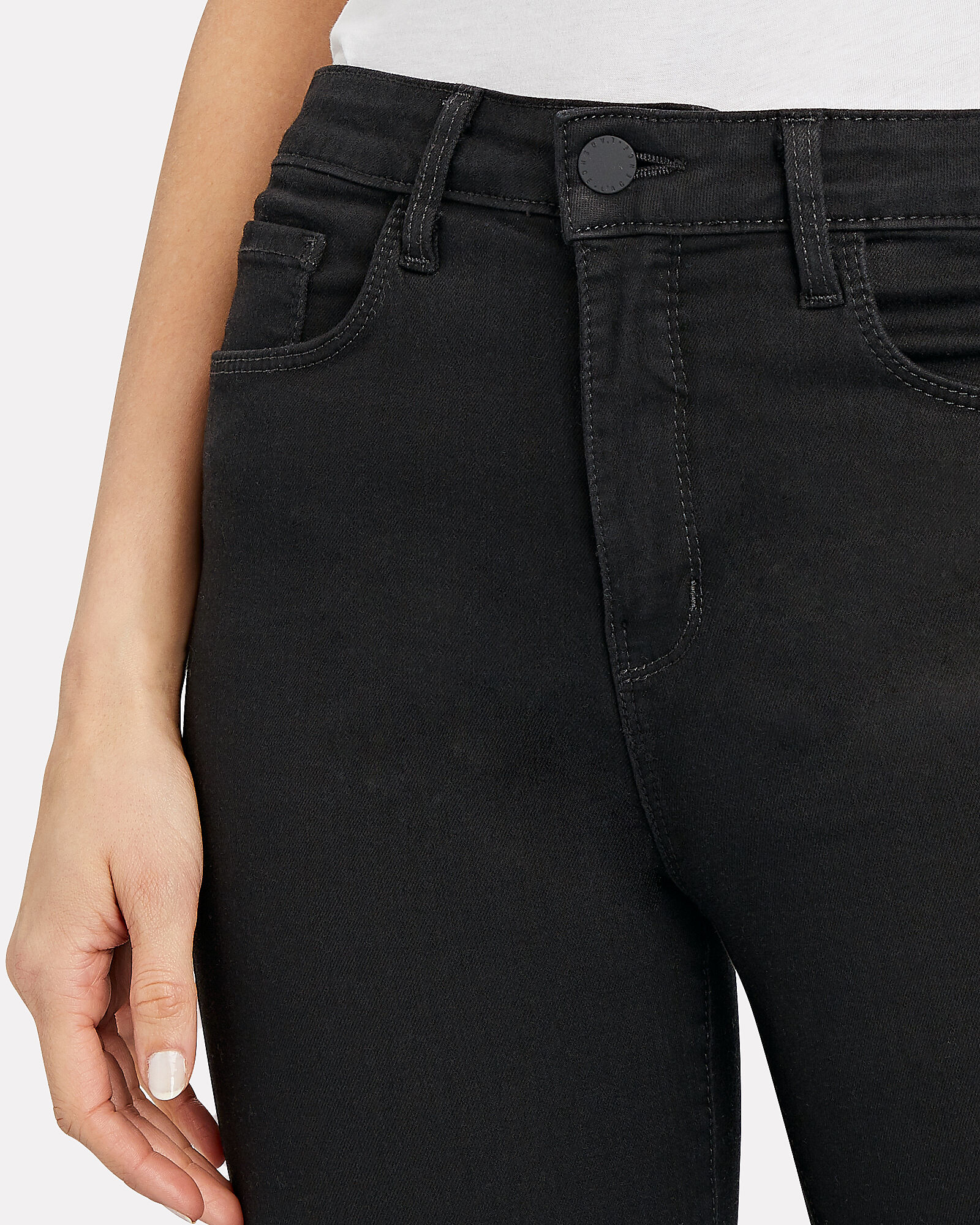 Margot High-Rise Skinny Jeans, NOIR, hi-res