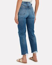 70s High-Rise Stove Pipe Jeans, WORN RICH INDIGO, hi-res