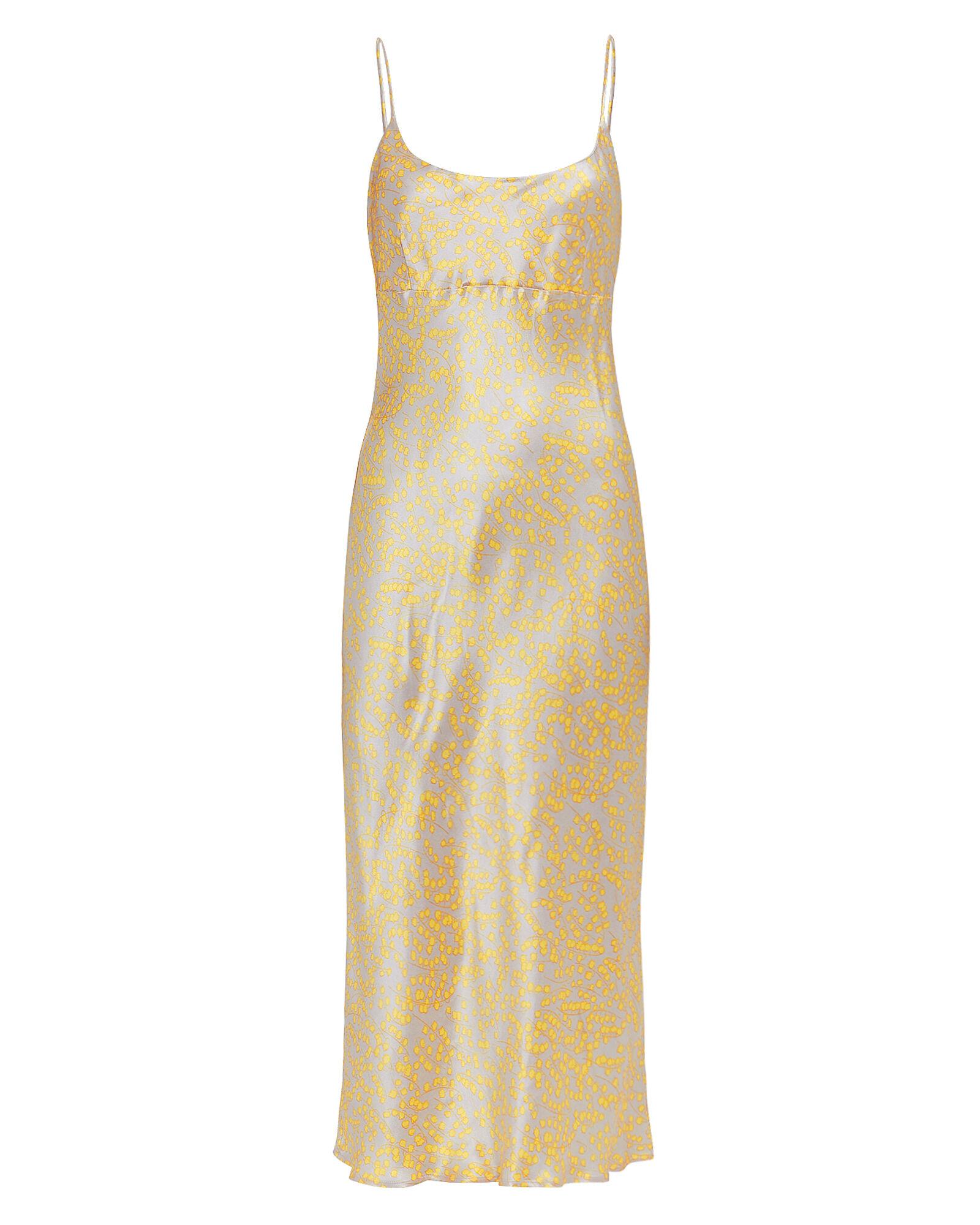 Yellow Cocktail Dress Ombre