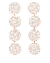 Teggy Rose Gold Earrings, ROSE GOLD, hi-res