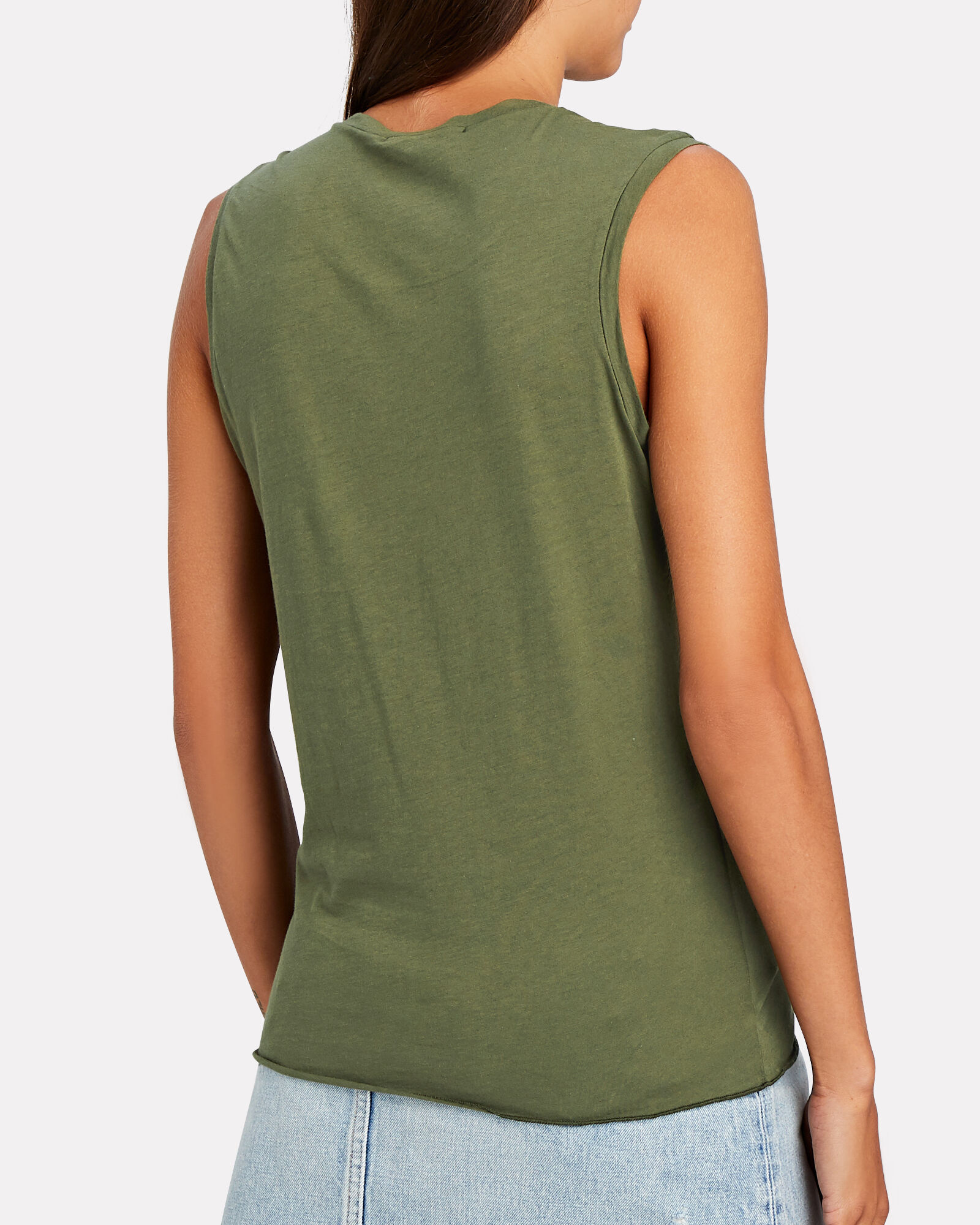 Supima Cotton Muscle T-Shirt, , hi-res