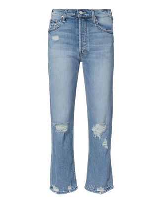 Tomcat Confession Cropped Jeans, DENIM, hi-res