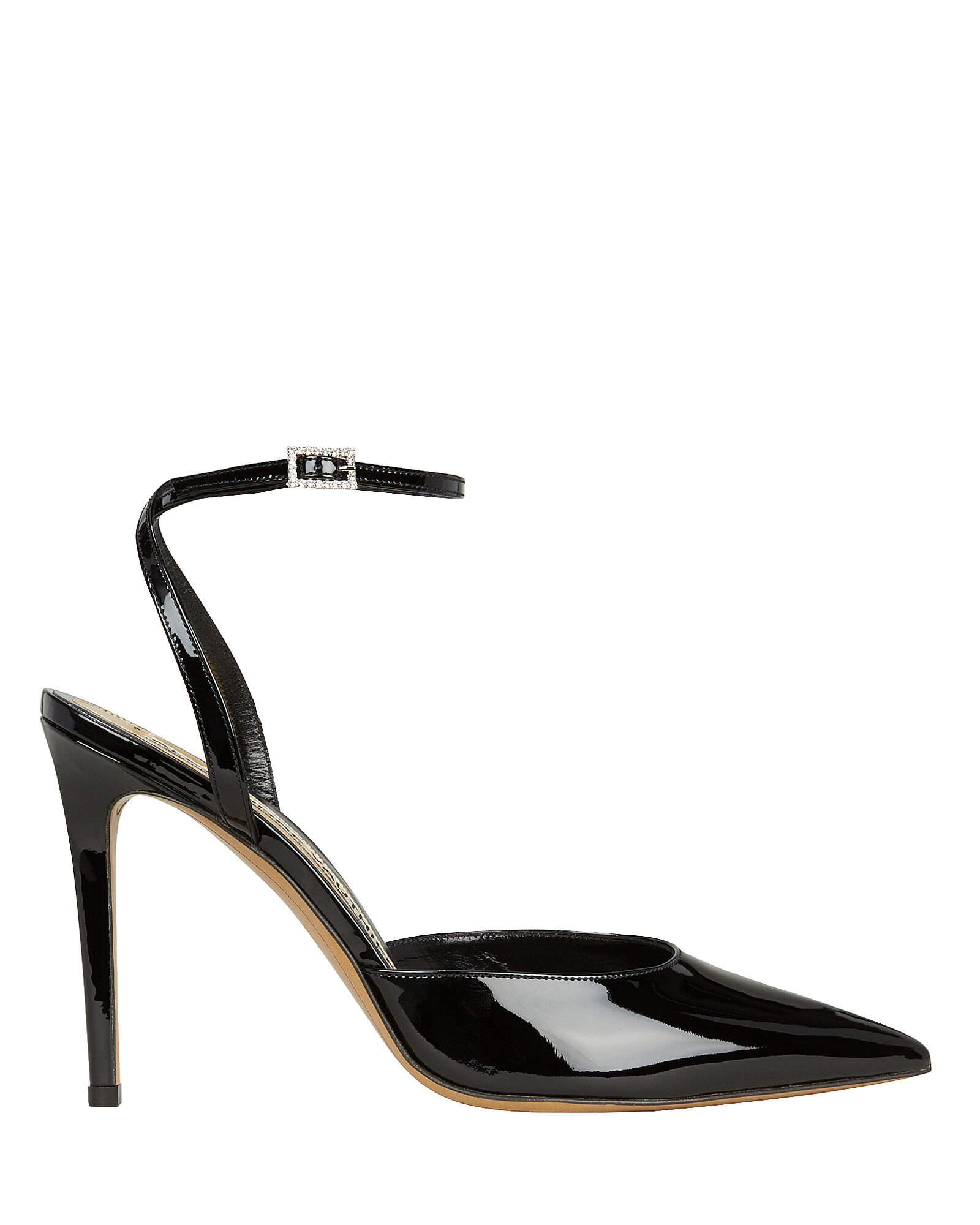 Carine Patent Leather Pumps, BLACK, hi-res