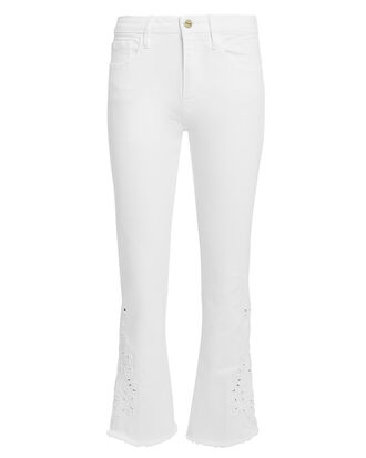 Le Crop Mini Boot White Jeans, WHITE DENIM, hi-res