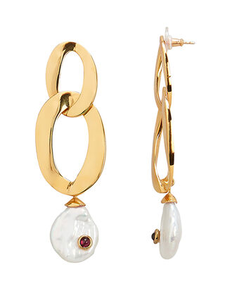 Basilicata Earrings, GOLD, hi-res