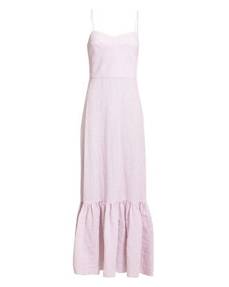Surbi Maxi Dress, ROSE STRIPE, hi-res