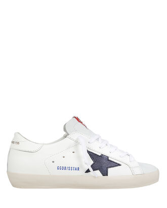Superstar Navy Star Low-Top Sneakers, RED/WHITE/NAVY, hi-res