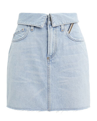 Flip Sky Skirt, LIGHT BLUE DENIM, hi-res