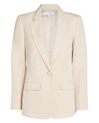 Fiona Tailored Blazer, BEIGE, hi-res
