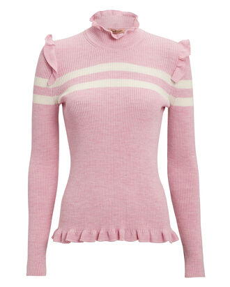 Far Far Away Knit Sweater, PINK, hi-res