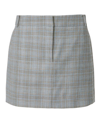 Cooper Check Mini Skirt, GREY, hi-res