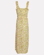 Saint Tropez Belted Floral Midi Dress, PALE GREEN, hi-res