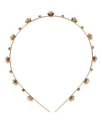Ines Star Crystal Headband, ANTIQUE GOLD, hi-res