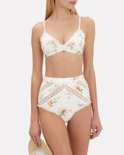 Heathers Floral Bikini Top, WHITE/FLORAL, hi-res
