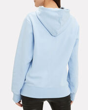 Exclamation Sky Blue Logo Hoodie, SKY BLUE/BLACK, hi-res
