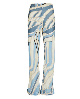 Kersti Printed Wide-Leg Pants, MULTI, hi-res