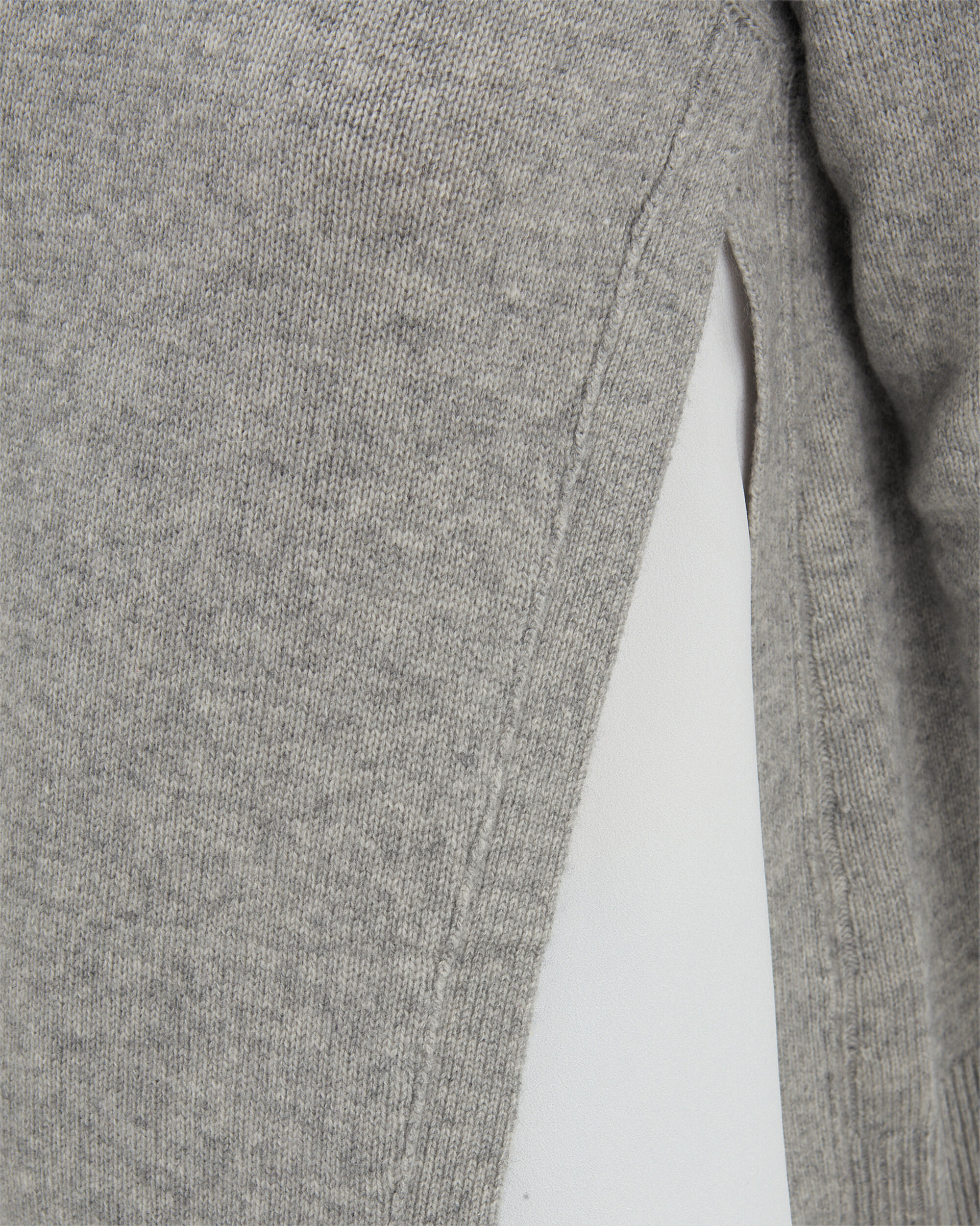 Arctic Grey Layered Sweater, GREY/WHITE, hi-res