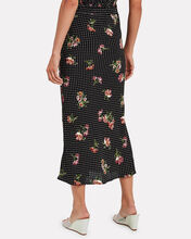 Alice Floral Midi Skirt, MULTI, hi-res