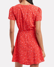 Aggy Floral Dress, RED/FLORAL, hi-res