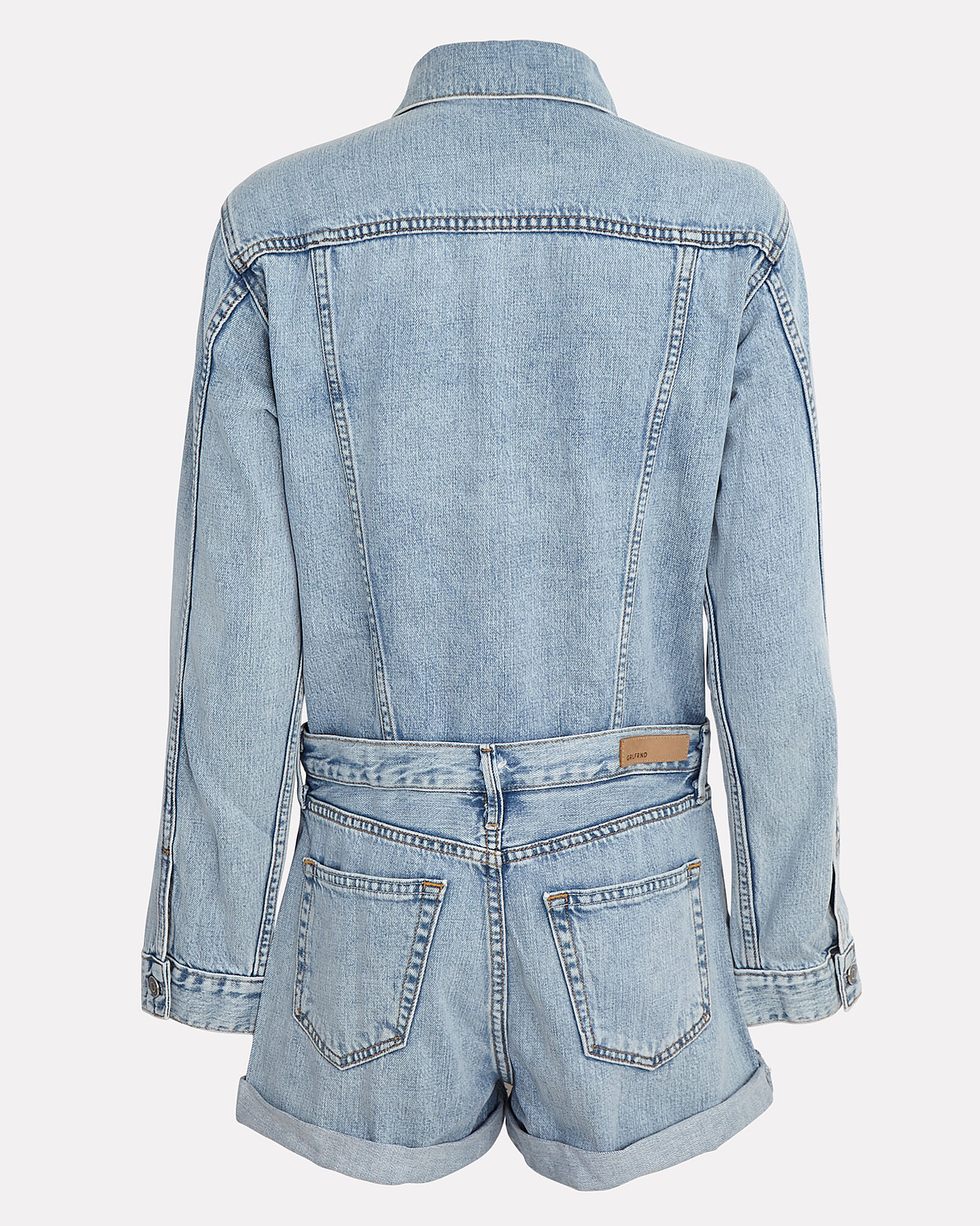Renata Denim Playsuit, DENIM-LT, hi-res