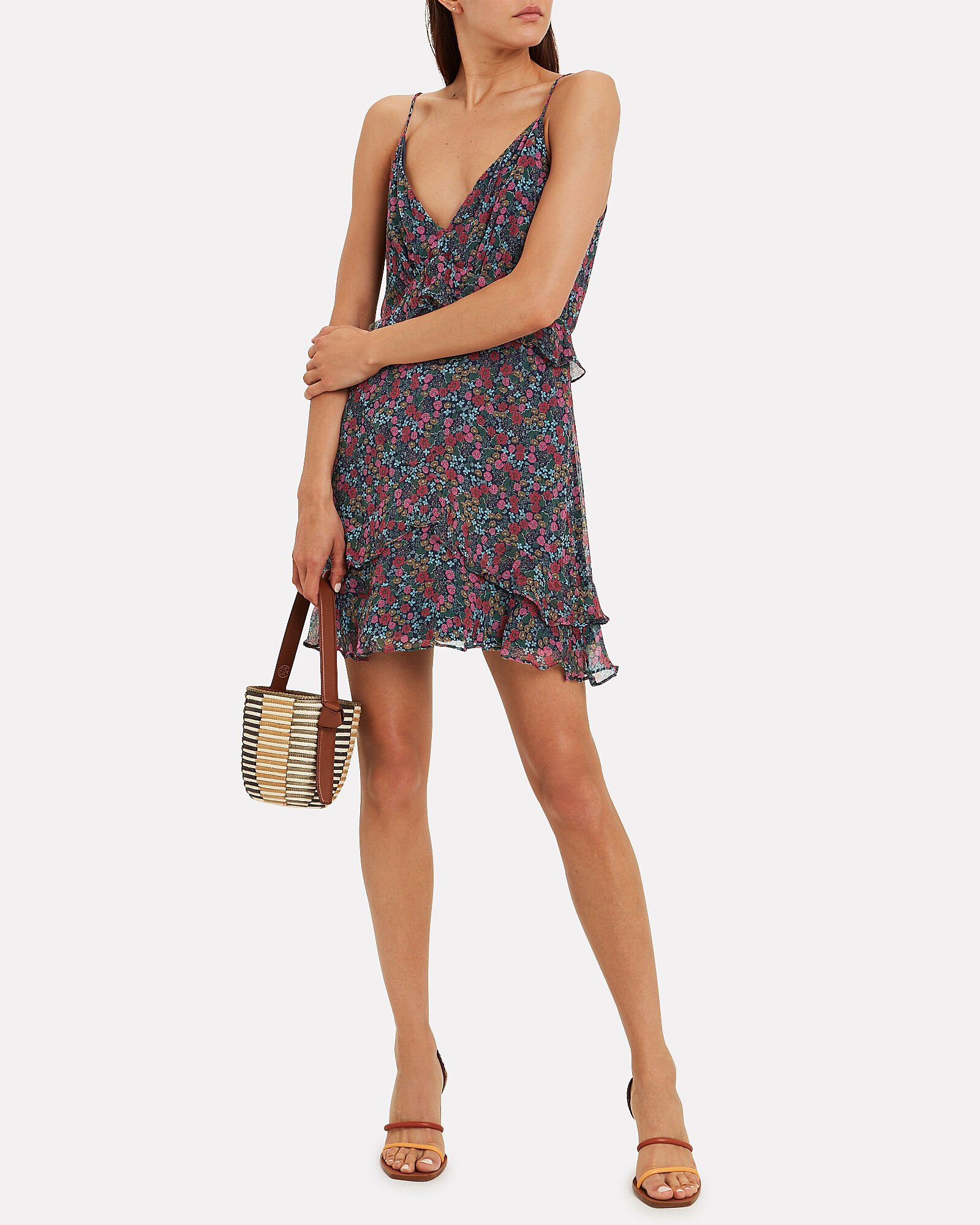 Mercy Floral Slip Dress, MULTI, hi-res