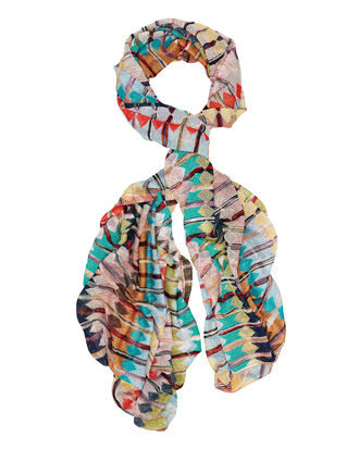 Lurex Striped Scarf, MULTI, hi-res