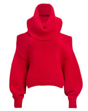 Upside Down Sweater, RED, hi-res