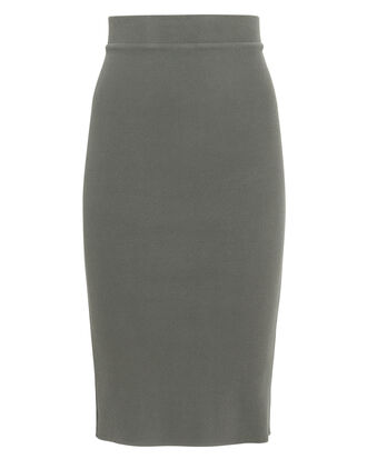 Lyla Knit Skirt, OLIVE, hi-res