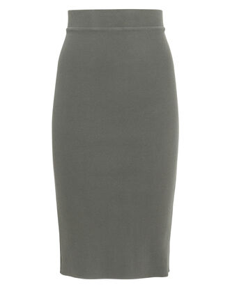 Lyla Knit Skirt, OLIVE/ARMY, hi-res