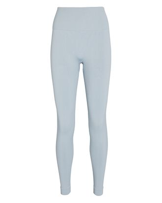 Seamless High-Rise Leggings, LIGHT BLUE, hi-res