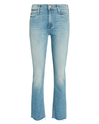 The Dazzler Slim Straight-Leg Jeans, MEDIUM WASH DENIM, hi-res