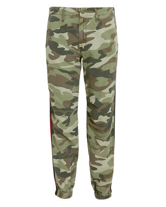 No Zip Misfit Camo Pants, GREEN-LT, hi-res