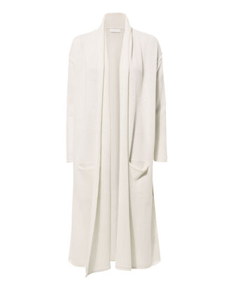 Robertson Chalk Cashmere Duster, IVORY, hi-res