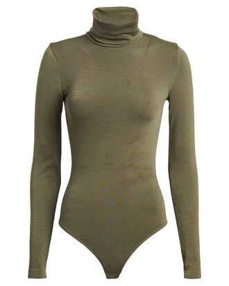 Colorado String Bodysuit, GREEN, hi-res